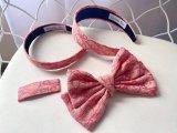 Dior Pink Headband Hairband Hair Clips