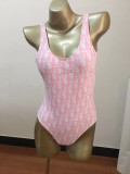 DIO09 New Dior Swimwear One piece