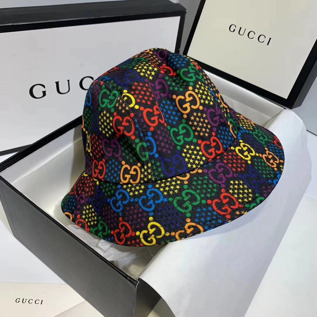 Colorful GG Bucket Hat