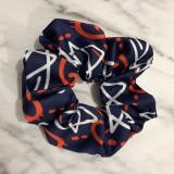Inspired Printed Scrunchies Silk like