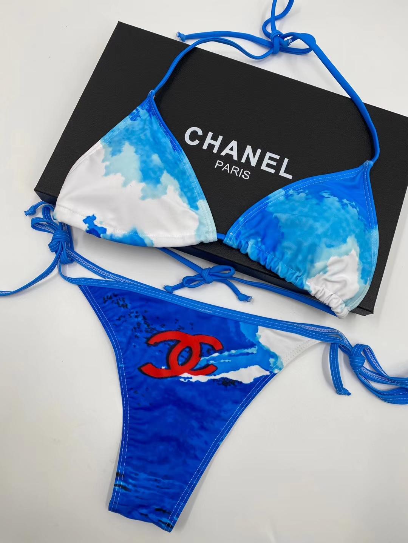 CH18 Sky Bikinis Set