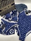 New Blue LV Bikinis