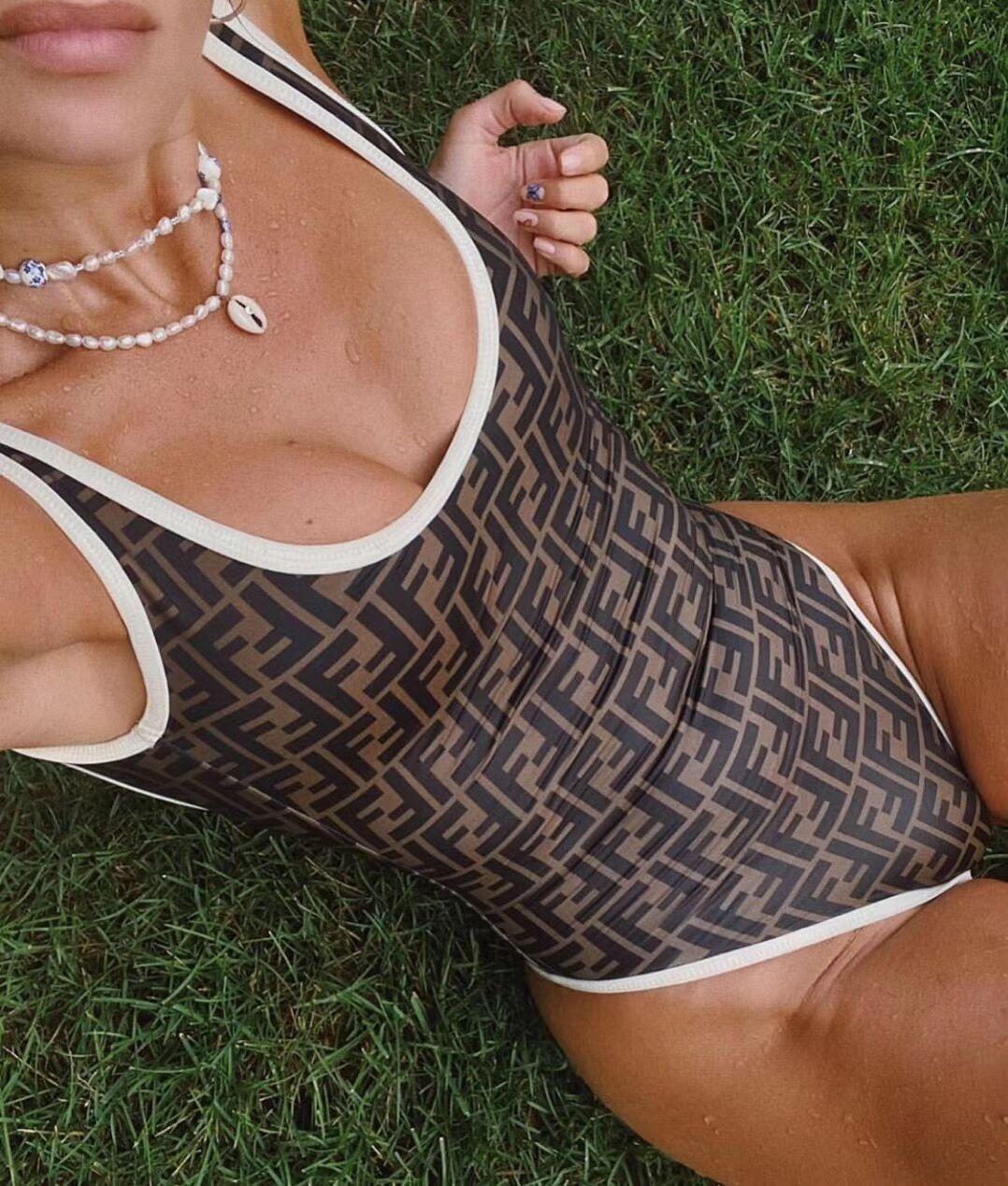 FD11 Designer One-piece swimwear