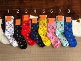 Colorful Monogram Socks