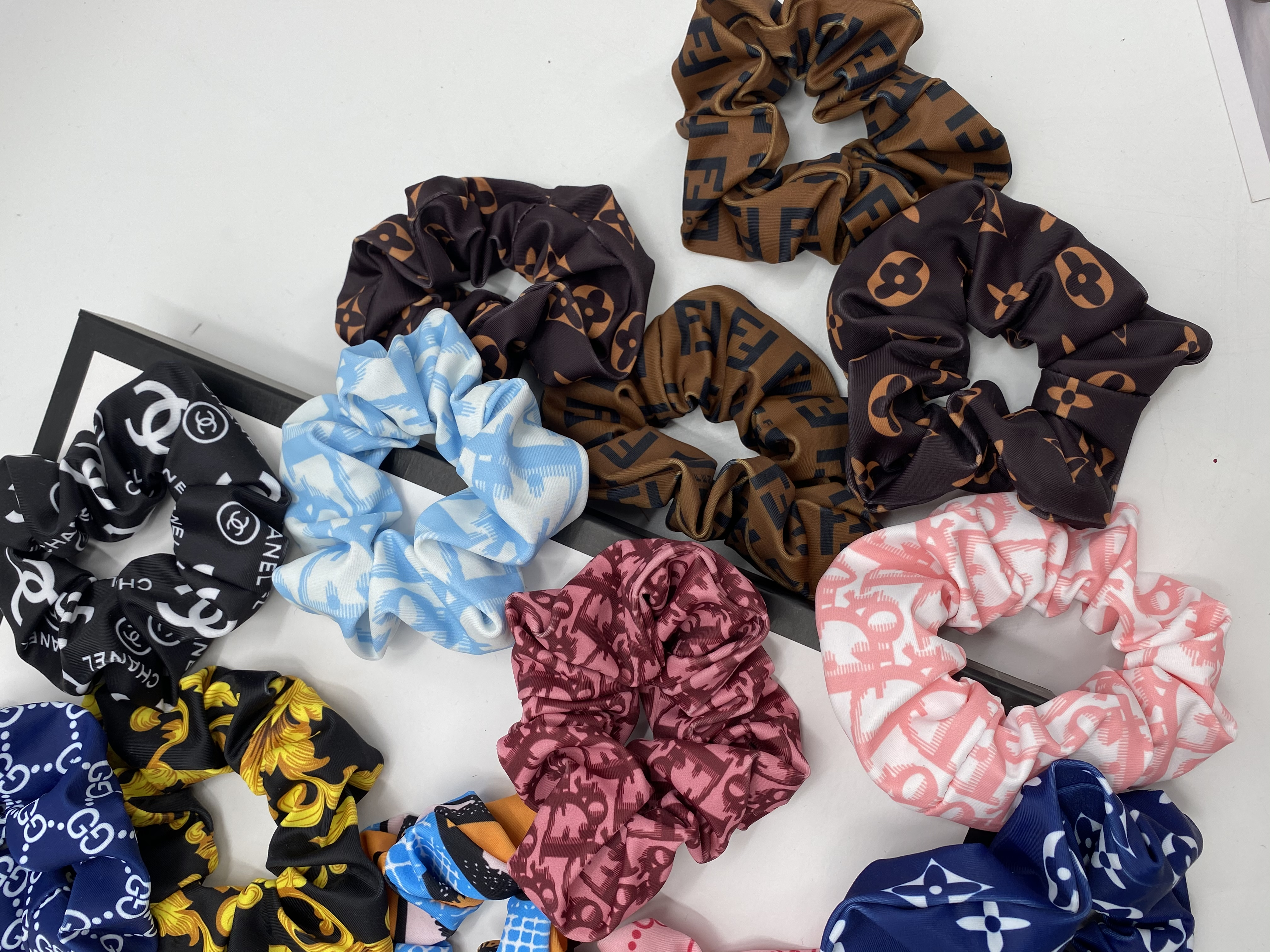 Inspired Hair Scrunchies