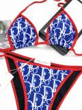 Royal blue CD Bikinis