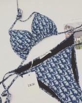 Blue Dior Bikinis