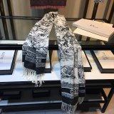 Animal Print Dior Scarf 70*180cm