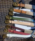 leather GG belts Autumn Colors 2cm 3cm
