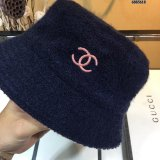 lamb wool Bucket Hat for Winter