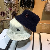 lamb wool Bucket Hat for Winter