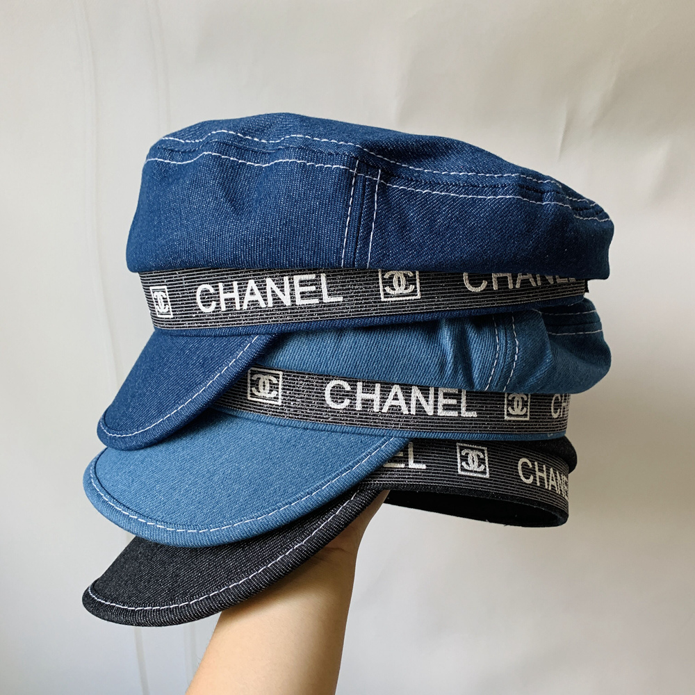 New Jeans Fabric Chanel Hat