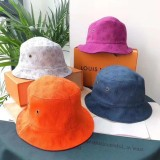 Double Side Monogram Bucket Hat 1:1 6 Colors