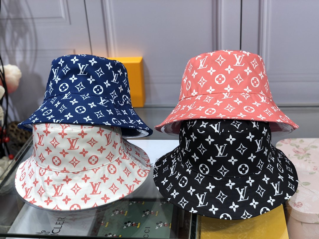 Monogram Bucket Hat Double side