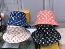 Monogram Bucket Hat Double side