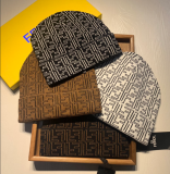 Knitted FF Beanies hat for winter