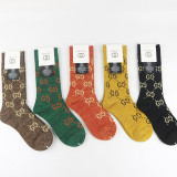 1 Lot GG socks (5 pairs)