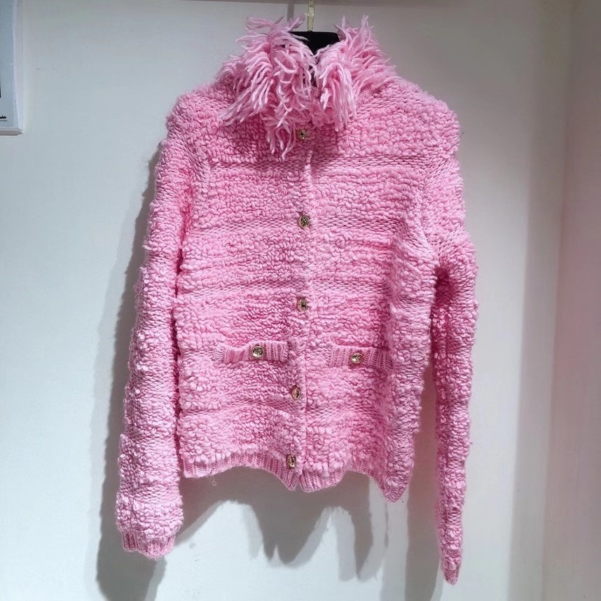 Thick Wool CC Cardigan