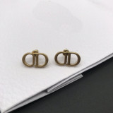 Vintage Designer CD earrings