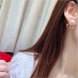 Vintage Designer CD earrings