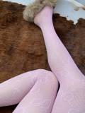 GG Big Letter Tight Beige Pink