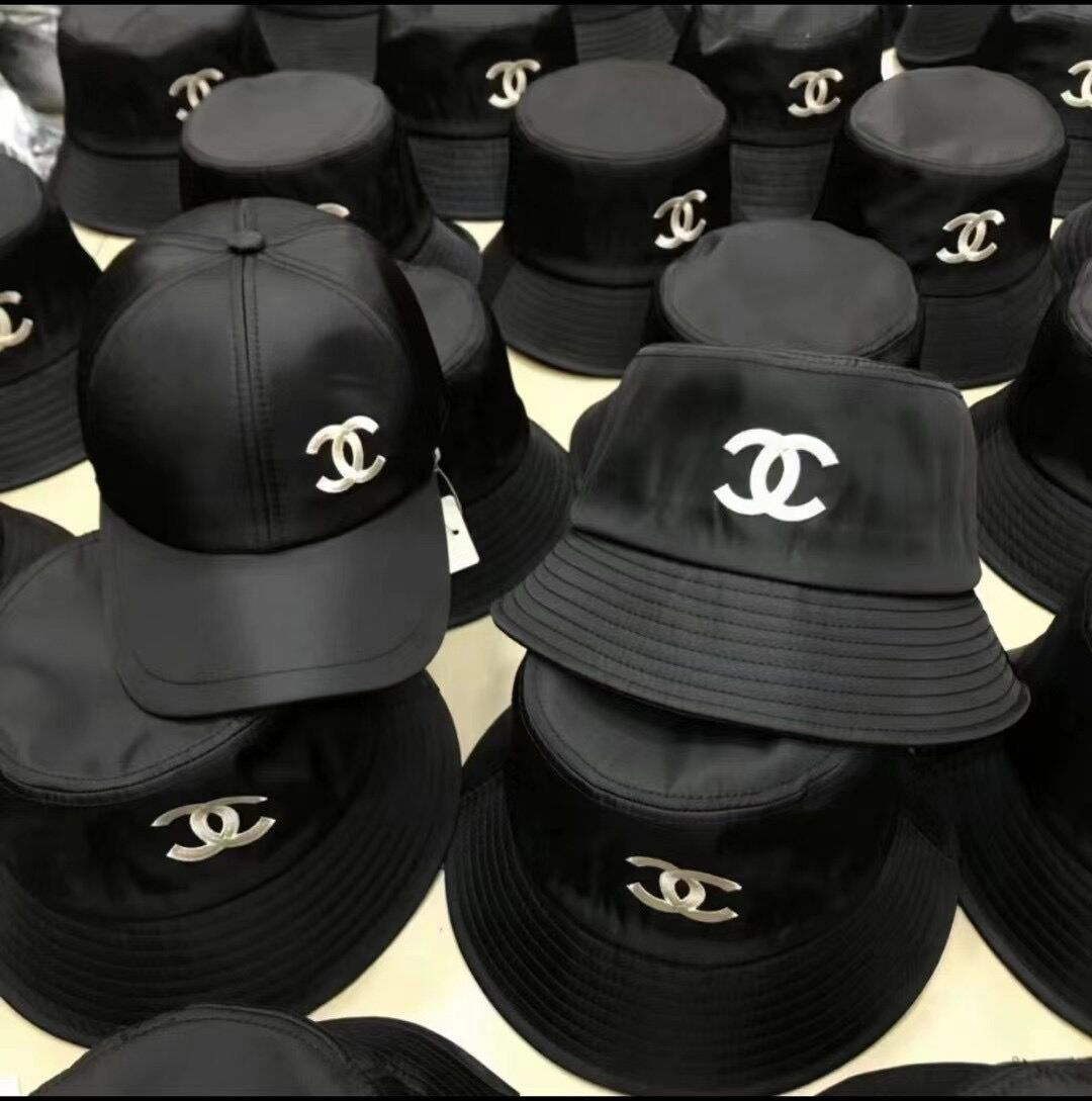 Designer black Hats big