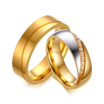 Wholesale Cheap Stainless Steel Wedding Rings