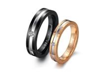 Stainless Steel Wedding n Engagement Rings