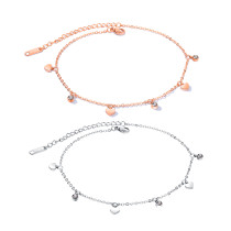 Wholesale Women Stainless Steel Anklet Styles