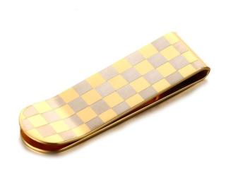 Wholesale Mens Stainless Steel Gold IP Money Clips