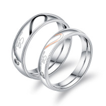 Wholesale Stainless Steel Couple Ring Latest