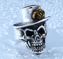 Wholesale China Jewelry Skull Ring Stainless Steel