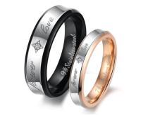 Stainless Steel Forever Love Ring