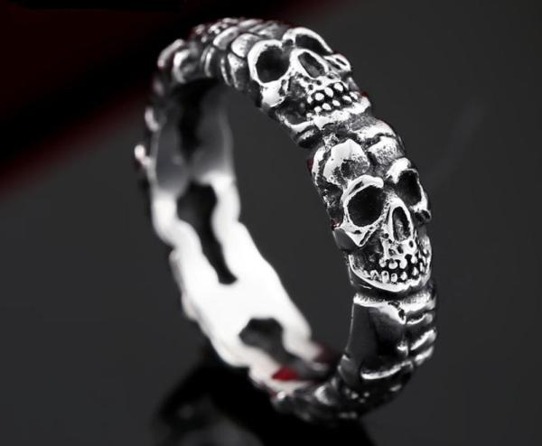 Wholesale Stainless Steel Skull Jewelry for Sale