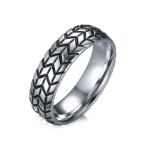 Wholesale China Jewelry Stainless Steel Tyre Ring
