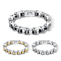Wholesale Stainless Steel Heavy Bike Chain Bracelet