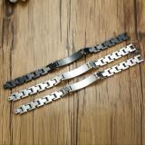 Wholesale Elegant Surgical Grade Steel Medical Alert ID Bracelet For Men and Women