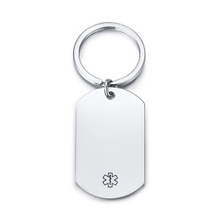 Wholesale Stainless Steel Key Ring with Medical