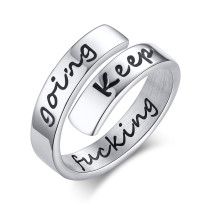 Wholesale Stainless Steel Inspirational Rings Gifts