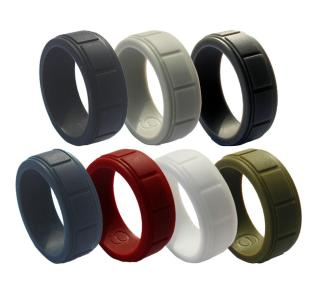 Wholesale Most Comfortable Men's Silicone Ring