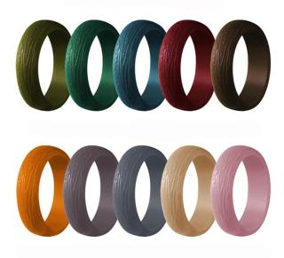 Wholesale Best Looking Silicone Wedding Ring