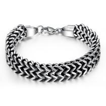 Wholesale Stainless Steel Double Franco Bracelet