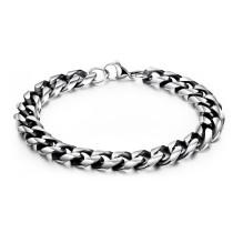 Wholesale Stainless Steel Mens Chain Charm Bracelet
