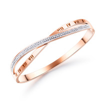 Wholesale Stainless Steel Personalised Infinity Bangle