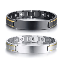 Wholesale Stainless Steel ID Magnetic Bracelet