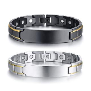 Wholesale Stainless Steel ID Magnetic Bracelet