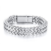 Wholesale Stainless Steel Franco Link Bracelet