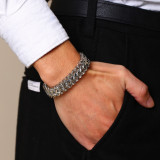 Wholesale Stainless Steel Franco Link Bracelet