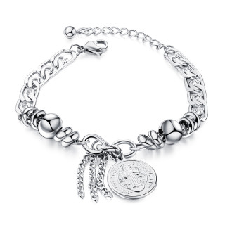 Wholesale Stainless Steel Catholic Bracelets Saints