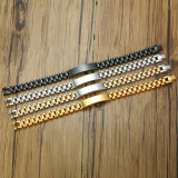 Wholesale 10mm Mens Steel ID Bracelet